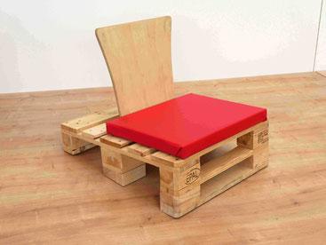 Stuhl aus Paletten